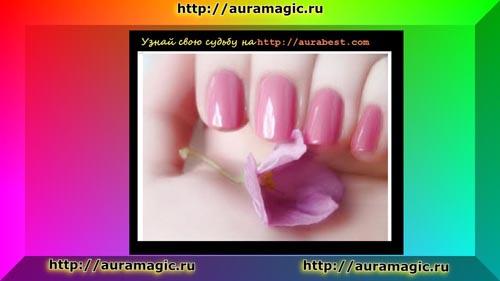 Розовый маникюр всегда считался нарядным