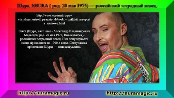 2016 Шура́, SHURA — гомосексуалист