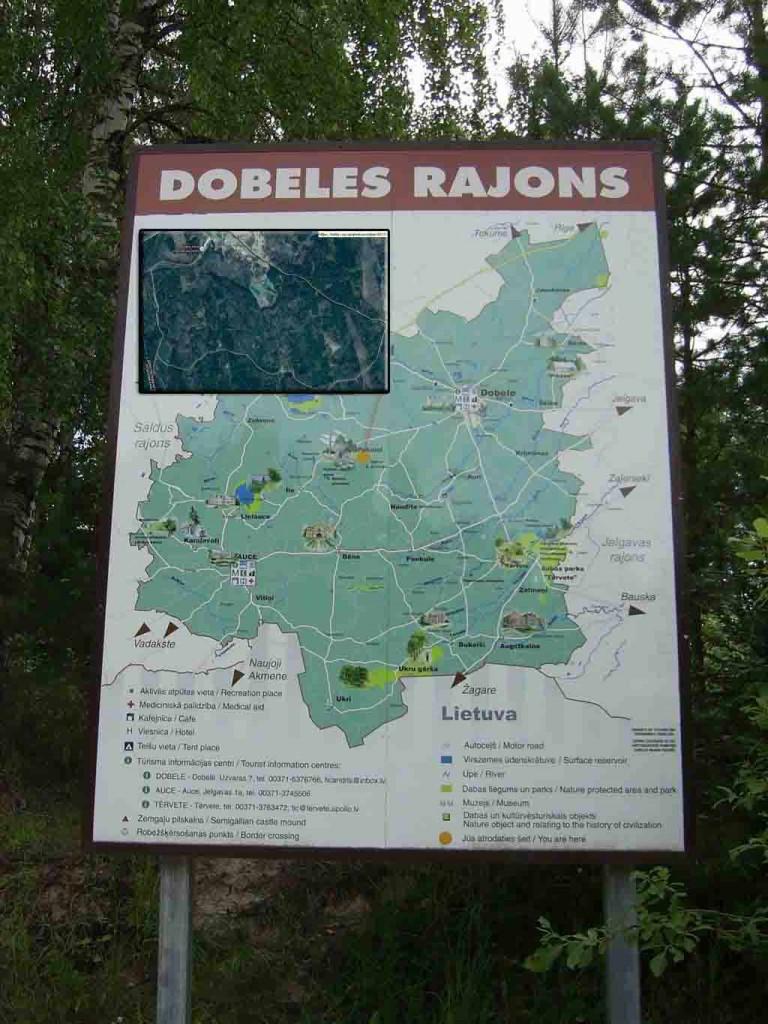 Покайни лес места силы Латвии