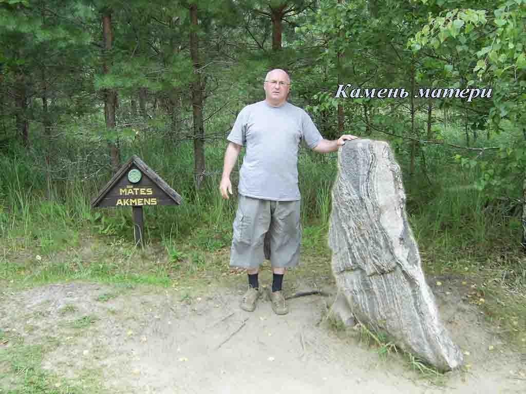 Посетите странный лес Покайни камень Матери